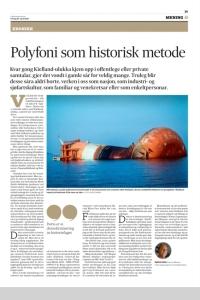 (Ein kortversjon av denne artikkelen sto på trykk i Fædrelandsvennen 24. april 2020)